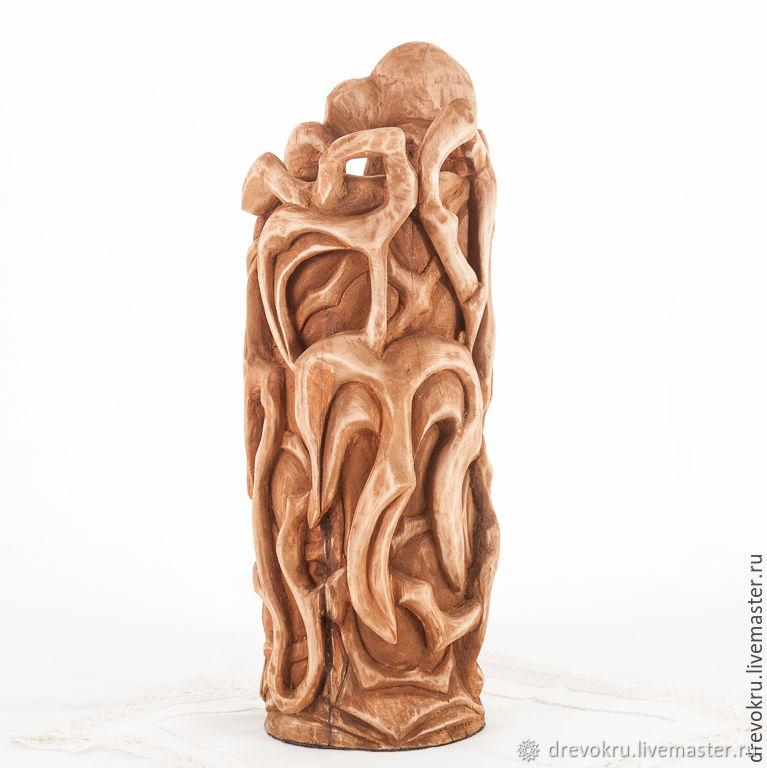 Ваза деревянная «Ричард Львиное Сердце»