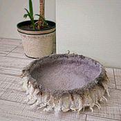 Лежанки ручной работы. Ярмарка Мастеров - ручная работа Лежанка для кошки 38 см, из 100% шерсти, гнездышко для кошки. Handmade.