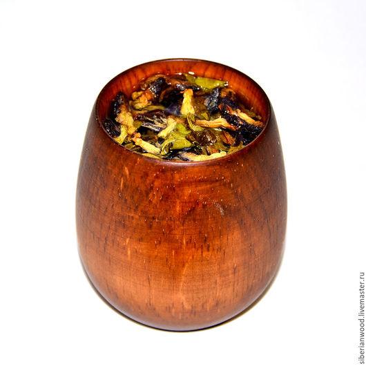 Кружки и чашки ручной работы. Ярмарка Мастеров - ручная работа. Купить Стакан кружка деревянная для чая кваса морсов из натурального кедра K2. Handmade.