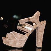 Slingbacks handmade. Livemaster - original item Women`s sandals