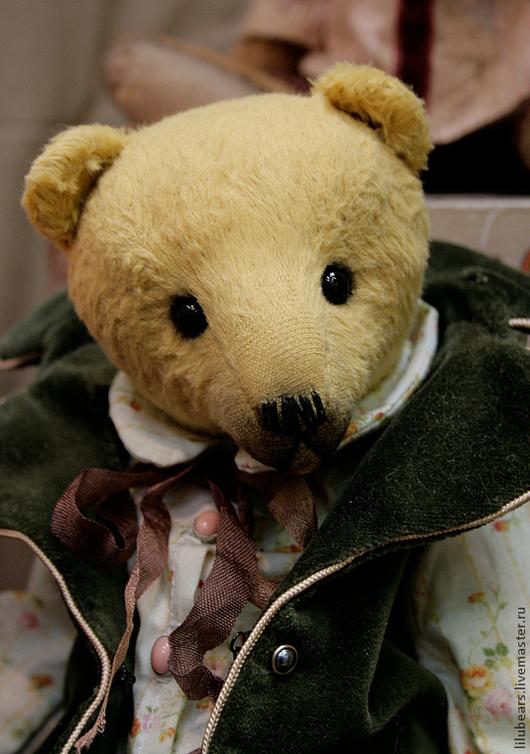 Мишки Тедди ручной работы. Ярмарка Мастеров - ручная работа. Купить Граф. Handmade. Оранжевый, медведь тедди, teddy, вискоза