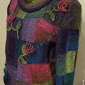 """Одежда ручной работы. Ярмарка Мастеров - ручная работа Свитер """"Розы"""". Handmade."""