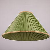 Для дома и интерьера ручной работы. Ярмарка Мастеров - ручная работа Абажур из шелковой ленты для настольной лампы. Handmade.