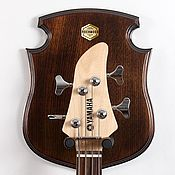 Музыкальные инструменты ручной работы. Ярмарка Мастеров - ручная работа STEWARD - настенный держатель гитары. Handmade.