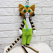 Куклы и игрушки ручной работы. Ярмарка Мастеров - ручная работа Финдус кот. Персонаж мультфильма. Handmade.
