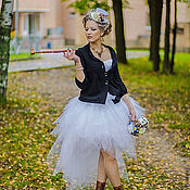 Одежда handmade. Livemaster - original item Skirt of tulle