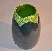 """Для дома и интерьера ручной работы. Ярмарка Мастеров - ручная работа ваза """"бутон"""" керамика. Handmade."""