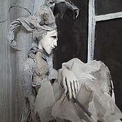 """Кукольный театр ручной работы. Ярмарка Мастеров - ручная работа """"Время года"""". Handmade."""