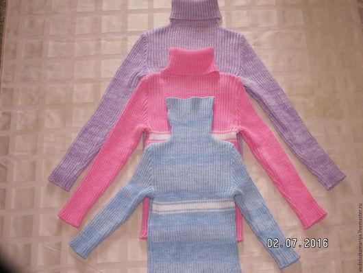 Кофты и свитера ручной работы. Ярмарка Мастеров - ручная работа. Купить водолазка из полушерсти. Handmade. Водолазка, теплые свитера