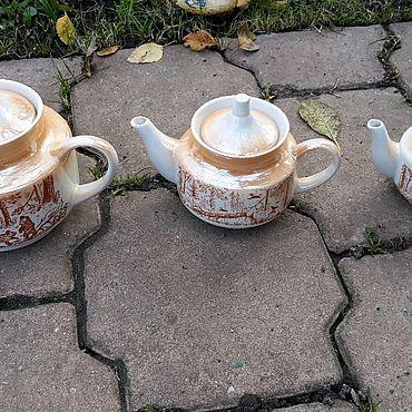 Посуда ручной работы. Ярмарка Мастеров - ручная работа Заварочные чайники. Handmade.