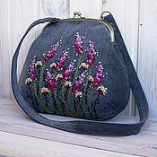 Сумки и аксессуары handmade. Livemaster - original item Bag CRADLE HEATHER. Handmade.