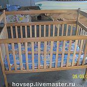 Для дома и интерьера ручной работы. Ярмарка Мастеров - ручная работа детская кроватка. Handmade.