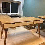 Столы ручной работы. Ярмарка Мастеров - ручная работа Письменный стол из дуба Work v1. Handmade.