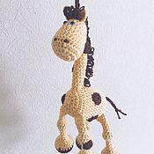 Одежда ручной работы. Ярмарка Мастеров - ручная работа Слингоигрушка жираф. Handmade.