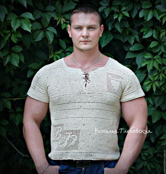 """Для мужчин, ручной работы. Ярмарка Мастеров - ручная работа. Купить Рубашка """"Индивидуум"""" с монограммой и обережными символами.. Handmade. Рисунок"""