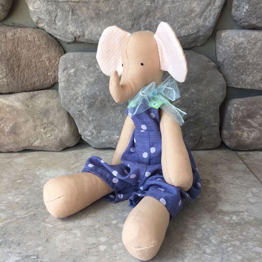 Куклы Тильды ручной работы. Ярмарка Мастеров - ручная работа. Купить Слоник Tilda. Handmade. Слоник, текстильная игрушка