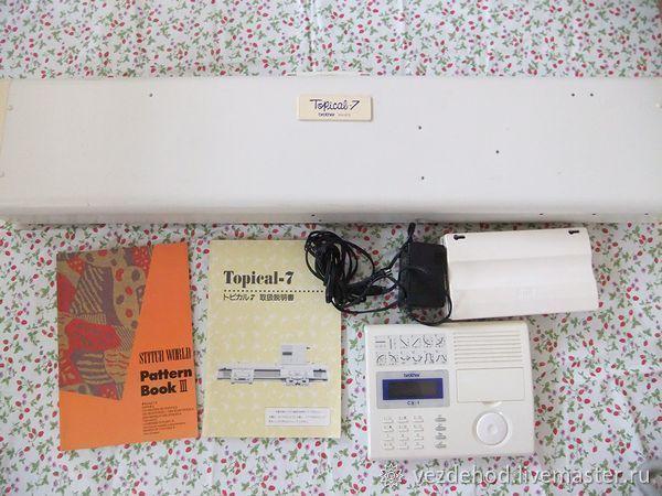 Электронная вязальная машина Brother KH 970 / 850 +кабель BL5 – купить в интернет-магазине на Ярмарке Мастеров с доставкой