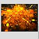 """Абстракция ручной работы. Ярмарка Мастеров - ручная работа. Купить """"Огненный вихрь"""" Файл, изображение, картина вспальню абстракция. Handmade."""