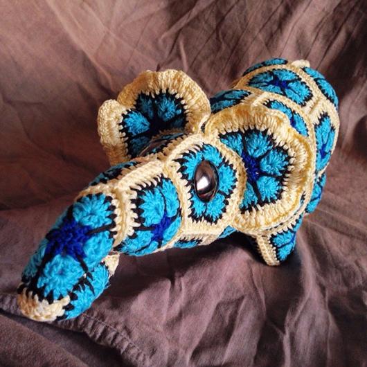 Игрушки животные, ручной работы. Ярмарка Мастеров - ручная работа. Купить Вязаная игрушка Слон Август. Handmade. Слон