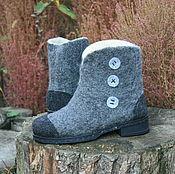Обувь ручной работы. Ярмарка Мастеров - ручная работа Ботинки. Handmade.