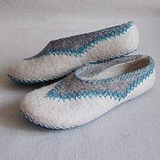 """Обувь ручной работы. Ярмарка Мастеров - ручная работа Тапочки """"Мозаика"""". Handmade."""