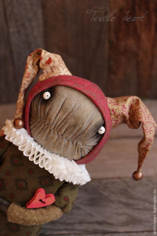 Куклы и игрушки ручной работы. Ярмарка Мастеров - ручная работа. Купить Влюбленный шут.... Handmade. Шут, клоун, монстр