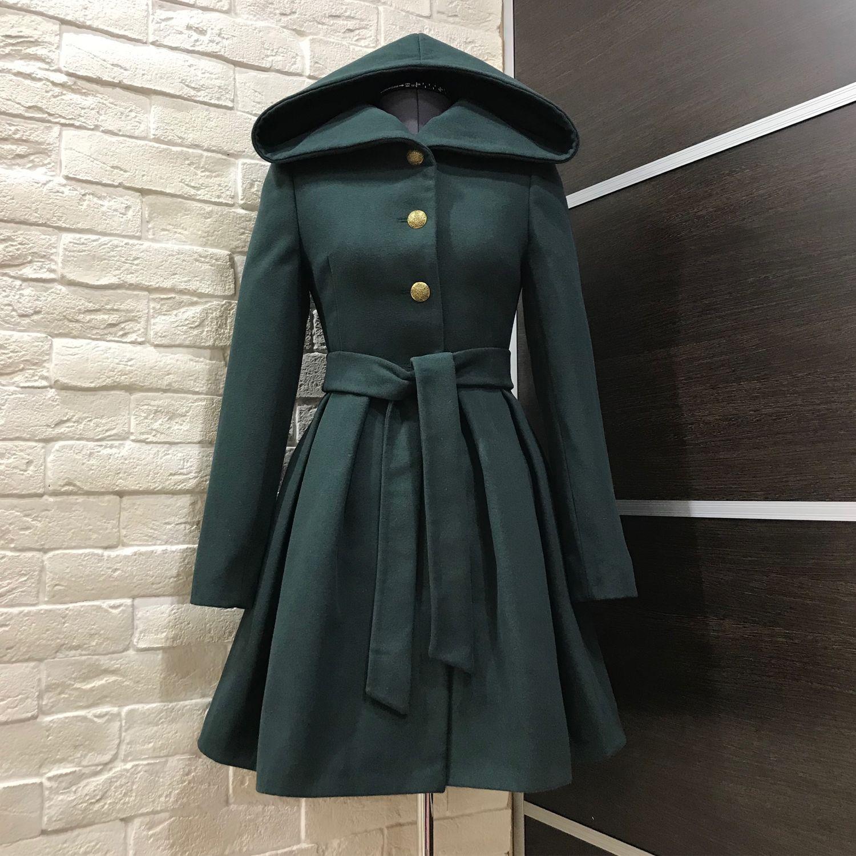 Верхняя одежда ручной работы. Ярмарка Мастеров - ручная работа. Купить  Пальто-платье с ... e45a63893f8