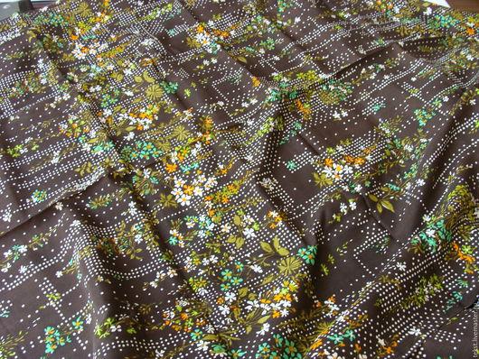 Шитье ручной работы. Ярмарка Мастеров - ручная работа. Купить 296 х 87 см. Ткань крепдешин, натуральный шелк.. Handmade.