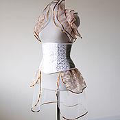 Одежда ручной работы. Ярмарка Мастеров - ручная работа СКИДКА 40% Утягивающий корсет под грудь хэллоуин стимпанк викториански. Handmade.