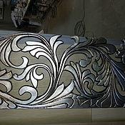 Для дома и интерьера ручной работы. Ярмарка Мастеров - ручная работа резной карниз. Handmade.
