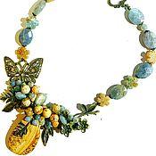Украшения handmade. Livemaster - original item Necklace made of Jasper. Handmade.