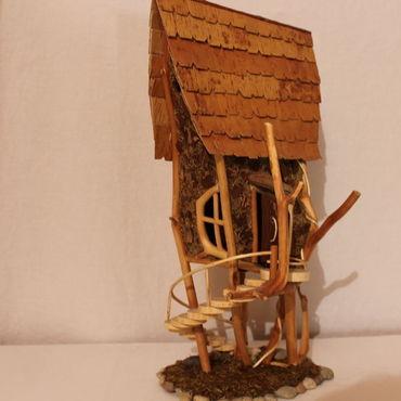 """Для дома и интерьера ручной работы. Ярмарка Мастеров - ручная работа Сказочный домик """"Лесная избушка"""". Handmade."""