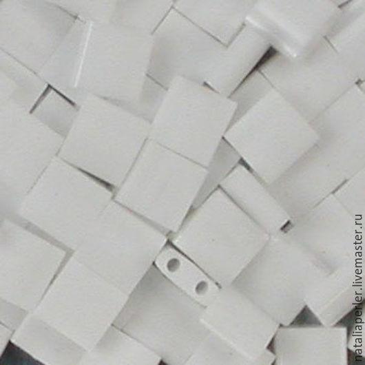 Для украшений ручной работы. Ярмарка Мастеров - ручная работа. Купить Миюки ТИЛА 402 opaque white 10гр. Handmade.