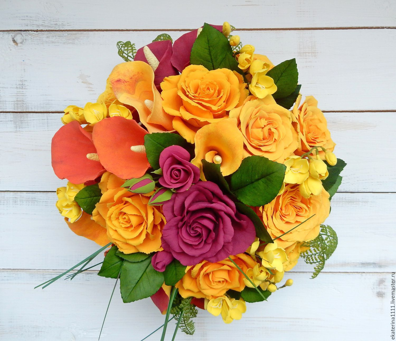 Каллы с розами, Композиции, Санкт-Петербург,  Фото №1
