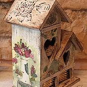 Домики ручной работы. Ярмарка Мастеров - ручная работа Чайный домик. Handmade.