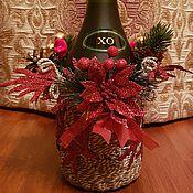Сувениры и подарки ручной работы. Ярмарка Мастеров - ручная работа Лафет для бутылки. Handmade.