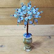Цветы и флористика handmade. Livemaster - original item Trees: Topaz Tree