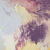 Картины и панно ручной работы. Ярмарка Мастеров - ручная работа Абстрактная живопись для интерьера. VANILLA.. Handmade.