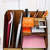 Для дома и интерьера handmade. Livemaster - original item Organizer, wooden, for papers. Handmade.