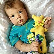 Куклы и игрушки ручной работы. Ярмарка Мастеров - ручная работа Кукла реборн на базе молда Crystal (Кристалл) by Donna RuBert. Handmade.