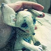 Куклы и игрушки ручной работы. Ярмарка Мастеров - ручная работа Снупфель...Маленький лис:). Handmade.