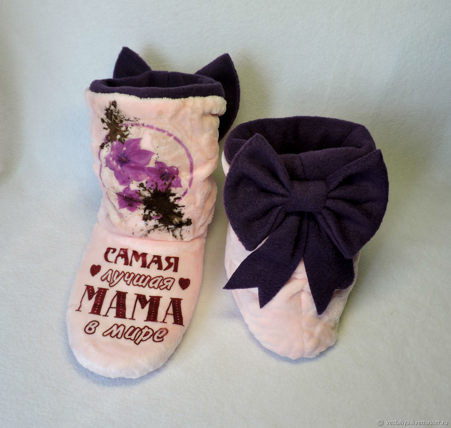 Slippers-boots for mom, Slippers, Novosibirsk,  Фото №1
