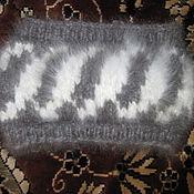 Аксессуары ручной работы. Ярмарка Мастеров - ручная работа повязка на голову из кроличьего пуха. Handmade.