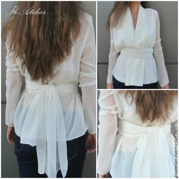 Купить женские рубашки и блузки с длинным рукавом
