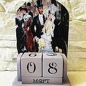 Канцелярские товары handmade. Livemaster - original item Perpetual calendar 19th century. Handmade.