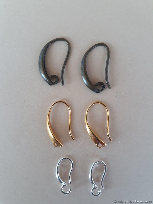 Швензы крючки 3 цвета, серебристые,бронза, золотистые, Швензы, Москва,  Фото №1