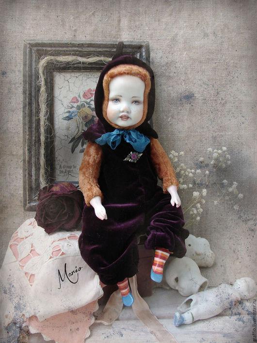 Коллекционные куклы ручной работы. Ярмарка Мастеров - ручная работа. Купить тедди-долл гном. Handmade. Тедди-долл