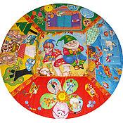 Куклы и игрушки ручной работы. Ярмарка Мастеров - ручная работа Развивающий коврик - В гостях у сказки. Handmade.
