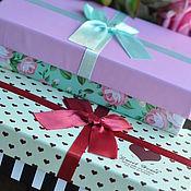 Материалы для творчества ручной работы. Ярмарка Мастеров - ручная работа Подарочная коробочка. Handmade.