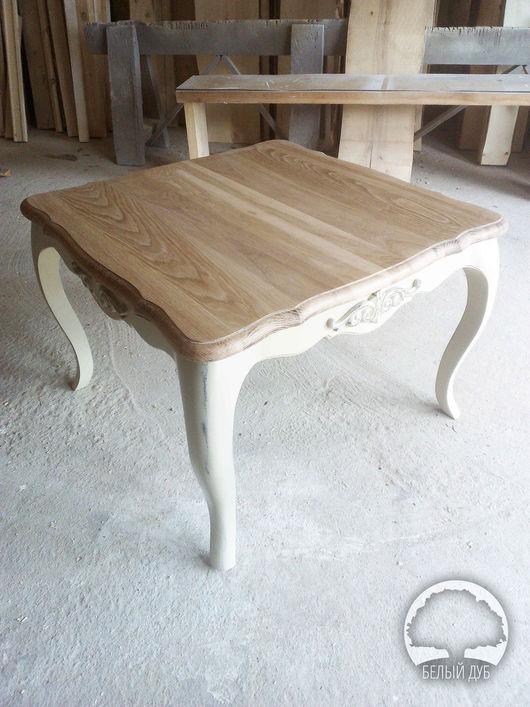 Мебель ручной работы. Ярмарка Мастеров - ручная работа. Купить Журнальный стол. Handmade. Комбинированный, массив дуба, прованс интерьер